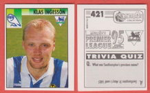 Sheffield Wednesday Klas Ingesson Sweden